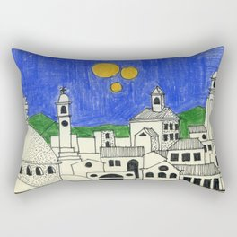 Faraway, long time a go_2 Rectangular Pillow