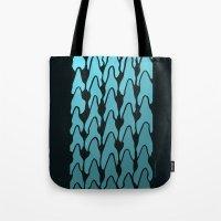 gradient Tote Bags featuring Gradient by Deusexmuraena