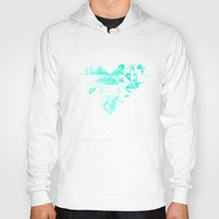 spires Hoodies featuring spires dymynd by Spires
