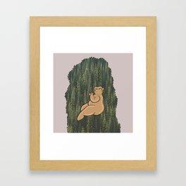 Earth Babe Framed Art Print