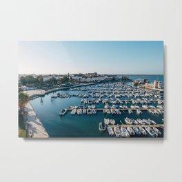 Faro, Portugal Metal Print