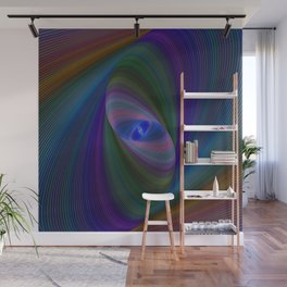 Elliptical fractal Wall Mural