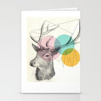 stitch Stationery Cards featuring stitch doe by Vin Zzep