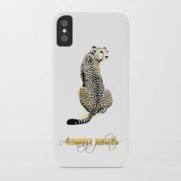 acinonyx jubatus iPhone Case