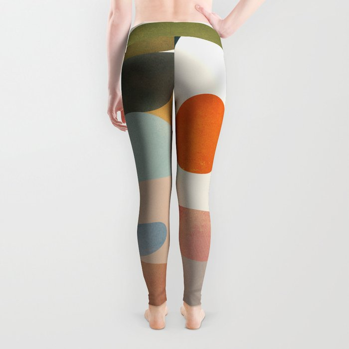 Modern Abstract Art 70 Leggings