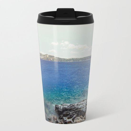 Take Me To The Lake Metal Travel Mug