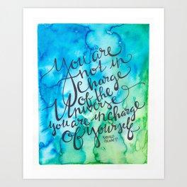 Universe & Self Art Print