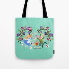 Wonderland Wallpainting Tote Bag