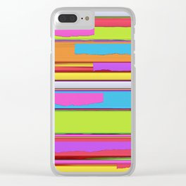 Side streets Clear iPhone Case