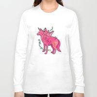 psychadelic Long Sleeve T-shirts featuring Desert Dreamer Dos by kozyndan