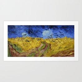 Van Gogh Wheatfield with Crows Art Print