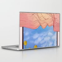 window Laptop & iPad Skins featuring Window by Brontosaurus