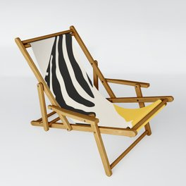 Zebra Abstract Sling Chair