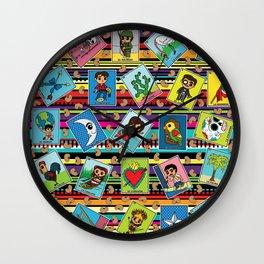Loteria Night Wall Clock