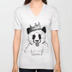 Queen B Unisex V-Neck