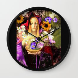 Invocating Summer Wall Clock
