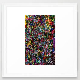 Voltage Framed Art Print
