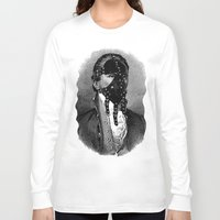 bdsm Long Sleeve T-shirts featuring BDSM IV by DIVIDUS