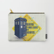 Doctor Who Tardis - Baby Timelord on Board Carry-All Pouch