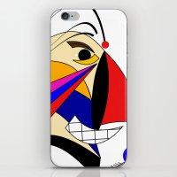 birdman iPhone & iPod Skins featuring Birdman by Charles Oliver