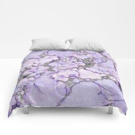 Lavender Marble Comforters