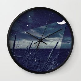 Before the storm - night Wall Clock