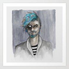 Bearded Art Print