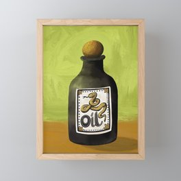 Snake Oil Framed Mini Art Print
