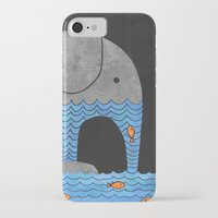 clockwork orange iPhone & iPod Cases featuring Thirsty Elephant  by Terry Fan