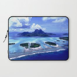 Bora Bora Island Tropical Paradise Laptop Sleeve