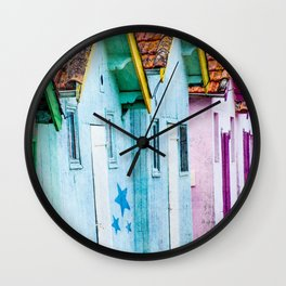 Starry Home Wall Clock
