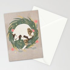 Cat grooming Stationery Cards