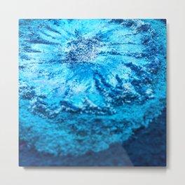 The Muse - Blue Bloom Metal Print
