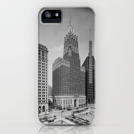 Light Street, Baltimore iPhone Case
