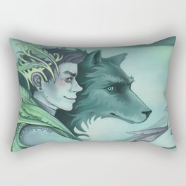 The Forest Prince Rectangular Pillow