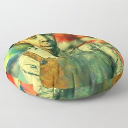 Face of Greatness Floor Pillow