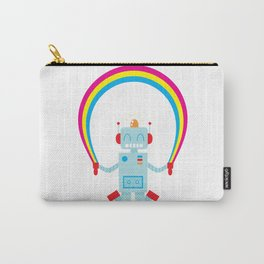 Skipping a Rainbow Carry-All Pouch