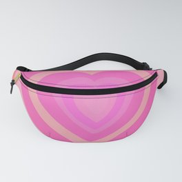 Love Me Like You Do - peach red Fanny Pack
