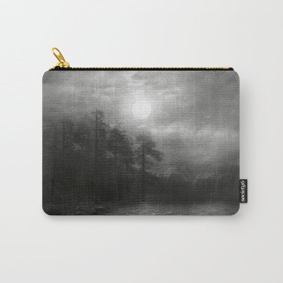 Black and White - Hope, in the turquoise water Carry-All Pouch