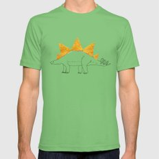 Stegodoritosaurus SMALL Mens Fitted Tee Grass