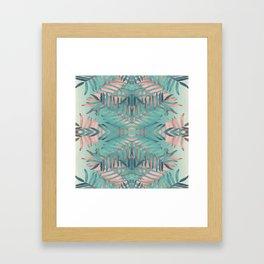 JUNGLE BOHO VIBES Framed Art Print