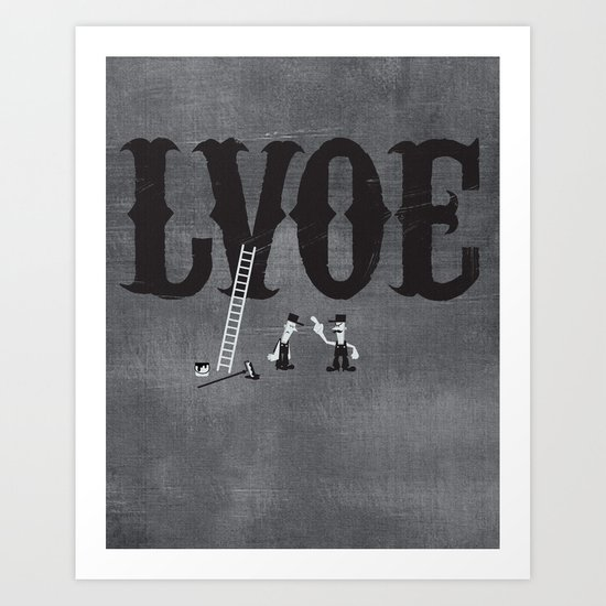 LVOE Art Print