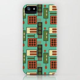 Retro Geodesic iPhone Case