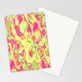 Abstract ABC MWY Stationery Cards