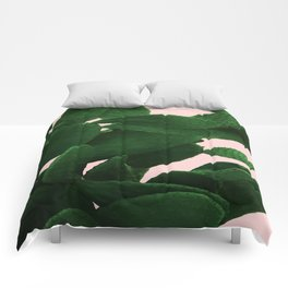 Cactus On Pink Comforters