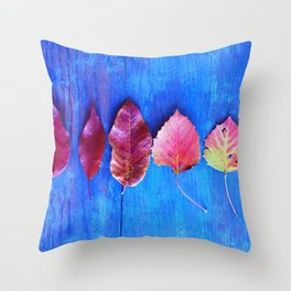 It's a Colorful World Throw Pillow