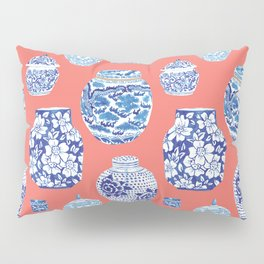 Chinoiserie Ginger Jar Collection No.4 Pillow Sham