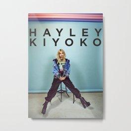 Hayley Kiyoko Metal Print