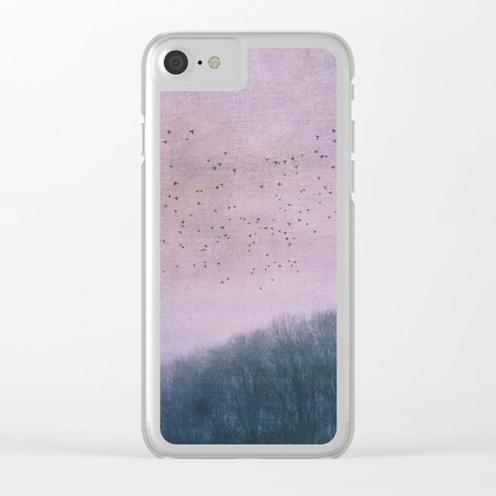 over the Heart of the Forest Clear iPhone Case