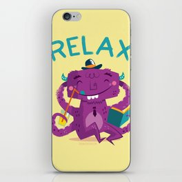 :::Relax Monster::: iPhone Skin